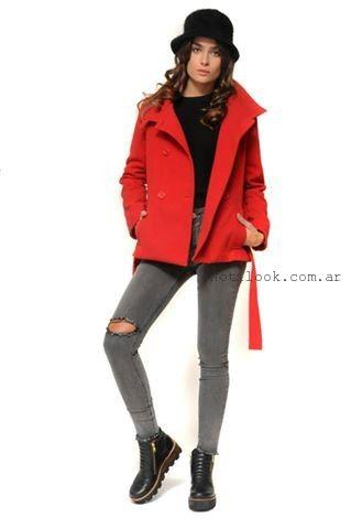 saco rojo invierno 2015 cenizas
