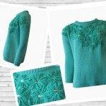 Madastore Sweater con tejidos originales invierno 2015