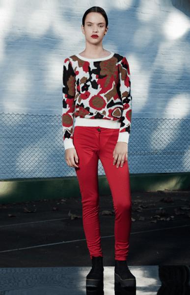 sweter estampado invierno 2015 vestite y andate