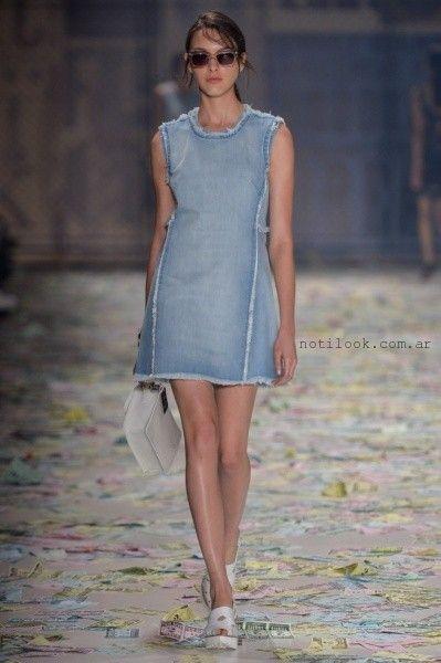 vestido de jeans - tendencia de moda verano 2016