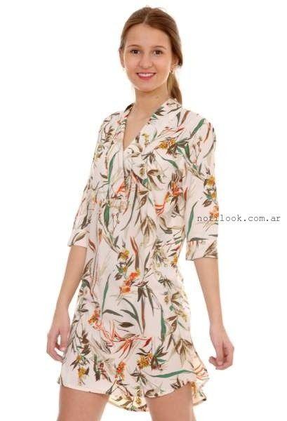 vestido estampado floral para el dia - tendencia verano 2016