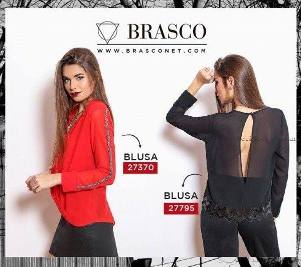 Blusas mangas largas invierno 2015 Brasco