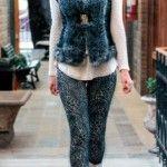 Moda – Chalecos de piel sintetica invierno 2015