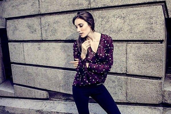blusas estampadas Oshum invierno 2015