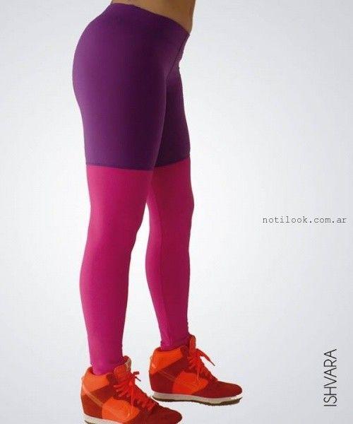 calzas de color invierno 2015 Ishvara
