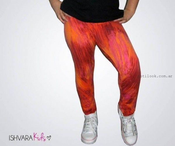 calzas estampadas invierno 2015 Ishvara