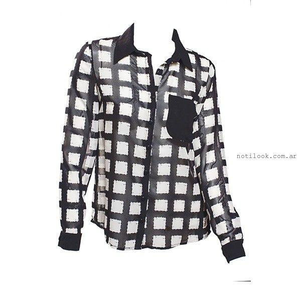 camisas mujer Oshum invierno 2015