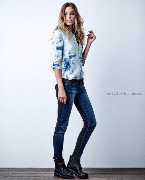 jeans mujer invierno 2015 wrangler