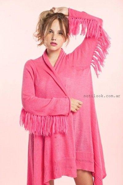 saco tejido invierno 2015 Love Wool Knitwear