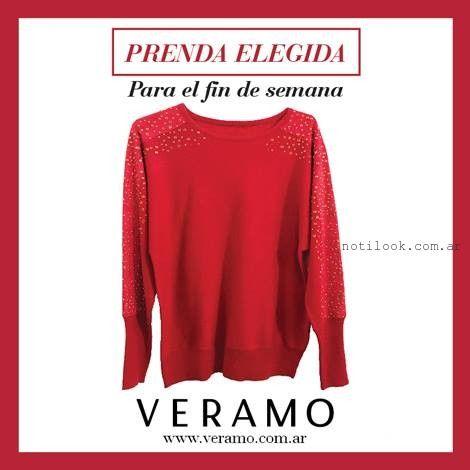 sweater bordado veramo invierno 2015