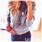 Moda – Sweaters tejidos invierno 2015
