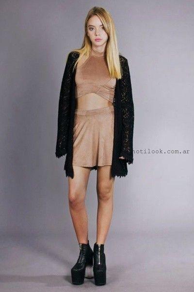 tops de terciopelo invierno 2015 Madness Clothing