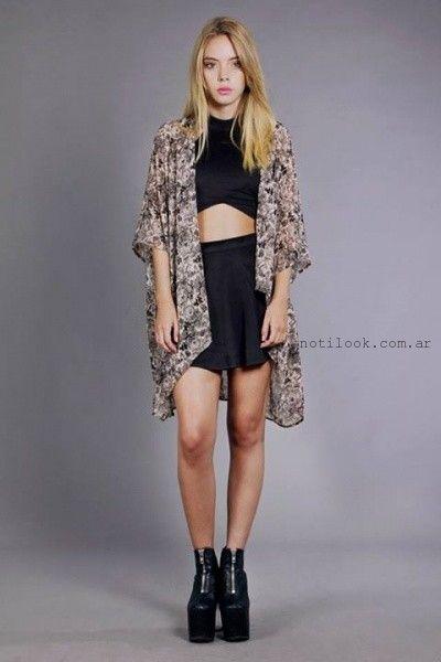 tops para la noche invierno 2015 Madness Clothing