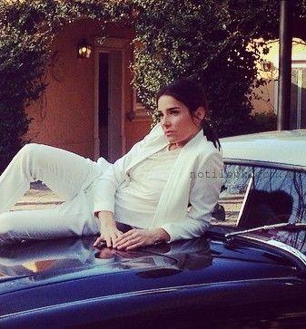 traje blanco mujer - Juanita Viale para Markova verano 2016