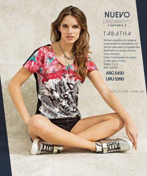 Martina Di Trento catalogo verano 2015