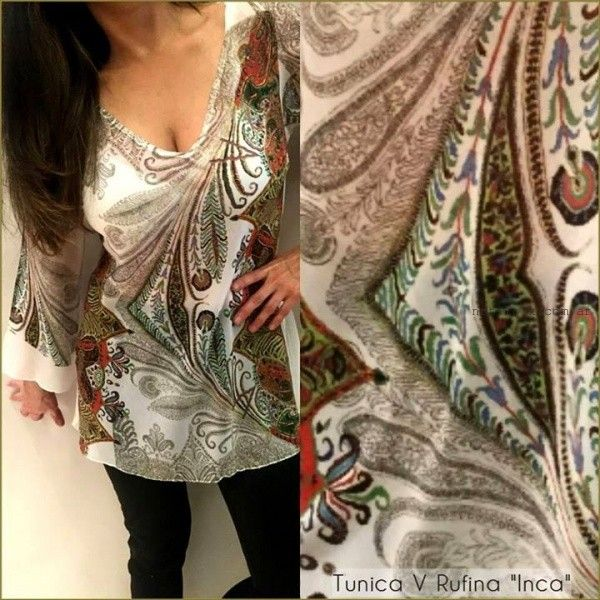 blusas estampadas monica acher verano 2016