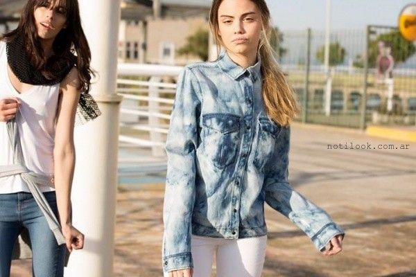 campera de jeans Kosiuko primavera verano 2016