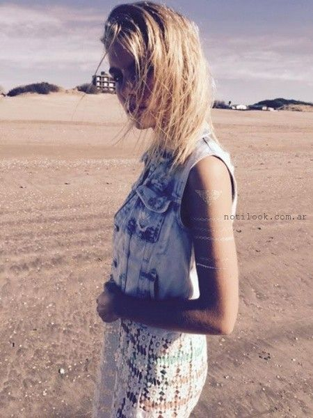 chaleco denim verano 2016