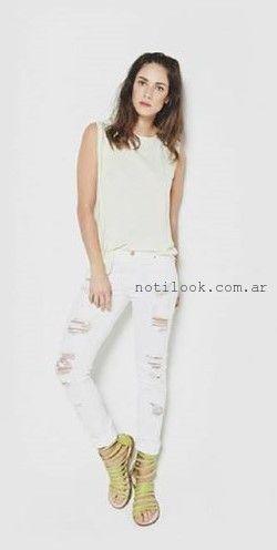 jeans rotos la cofradia verano 2016