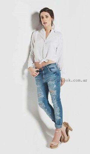 jeans rotos pirmavera verano 2016 la cofradia
