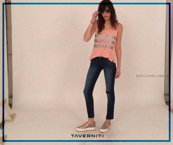 remera musculosa  Taverniti Jeans verano 2016