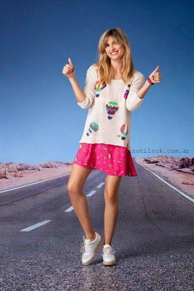 Agustina Saquer - Sweater tejidos verano 2016