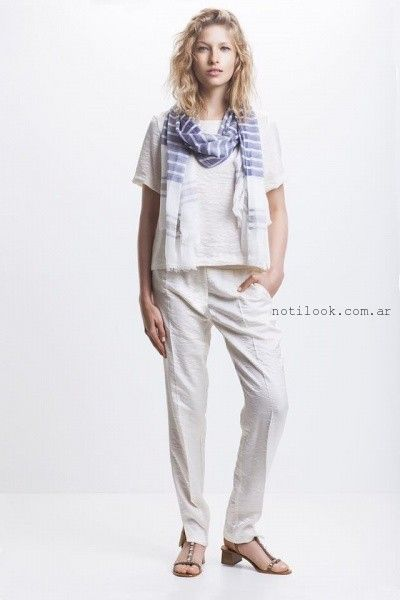 Awada - blusa y pantalon primavera verano 2016
