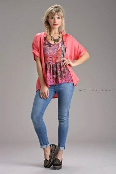 Brandel blusa primavera verano 2016