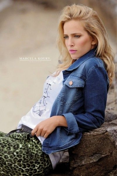 Marcela Koury Select - campera jeans verano 2016