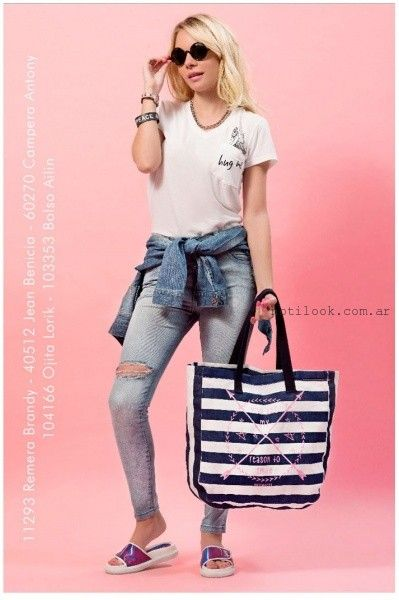 Union Good - Jeans chupin verano 2016