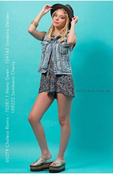 Union Good - chaleco Jeans corto verano 2016