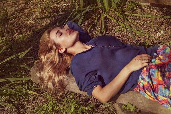 blusa casual verano 2016 Claudia Rubinsztein