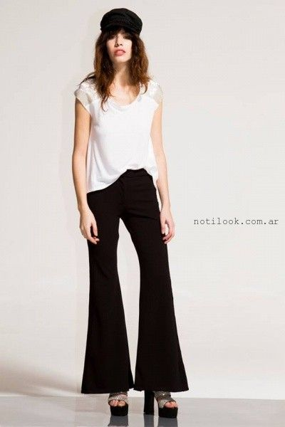 blusa y pantalon formal verano 2016 - Paris by Flor Monis