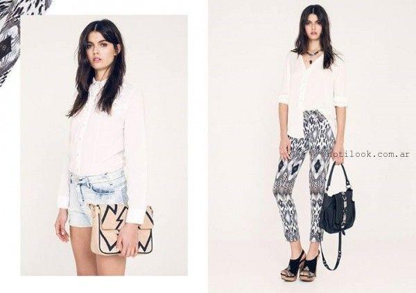 camisas mujer ossira verano 2016