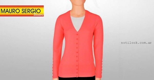 cardigans tejido - Mauro Sergio sweater verano 2016