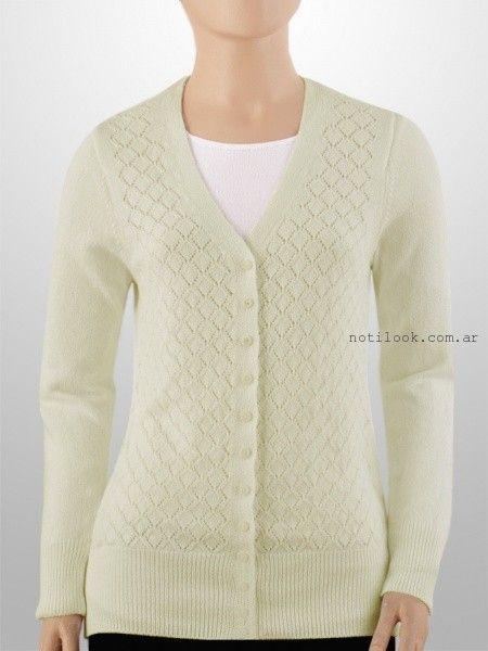 cardigans tejido amarillo - Mauro Sergio sweater verano 2016