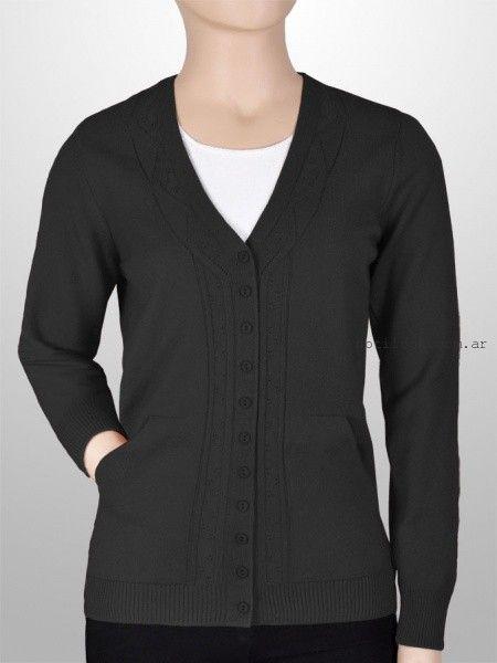 cardigans tejido negro - Mauro Sergio sweater verano 2016