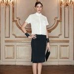Look para señoras by Cacharel primavera verano 2016 – Blazer, pantalones, camisas y vestidos