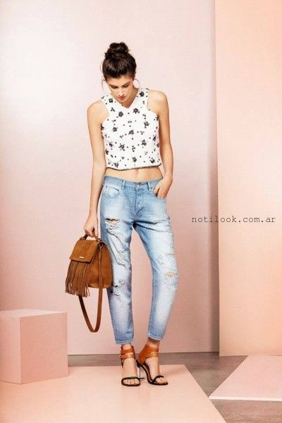 jeans boyfriends - UMA primavera verano 2016