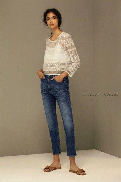 jeans chupin capri  - Maria Cher verano 2016