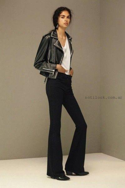 jeans negro oxford  - Maria Cher verano 2016