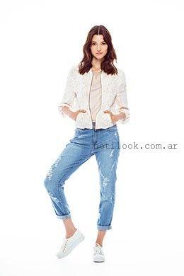 jeans rotos Yagmour primavera verano 2016