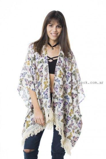kimono juvenil  47 Street primavera verano 2016