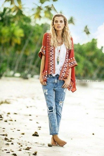 kimonos verano 2016 India Style