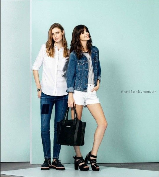 linea jeans - UMA primavera verano 2016