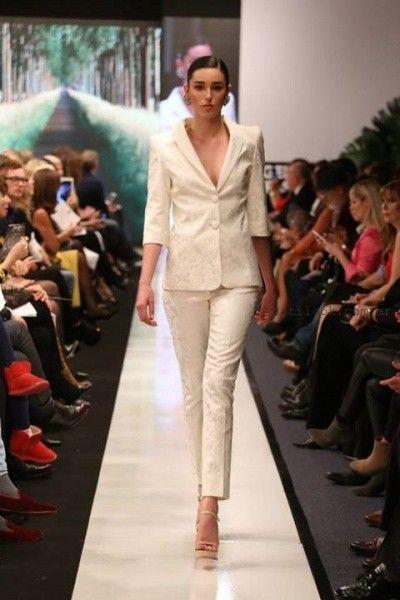 moda para ejecutivas verano 2016 Adriana Costantini