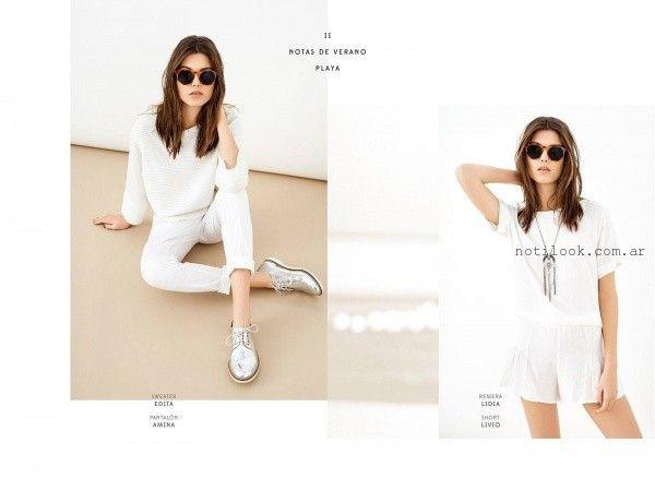 outfits de blanco verano 2016