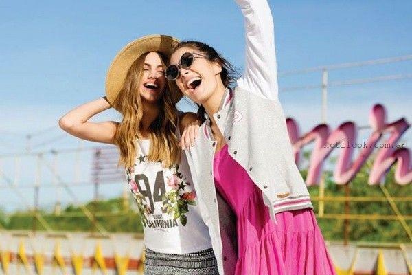 outfits informales Como Quieres Que Te Quiera primavera verano 2016