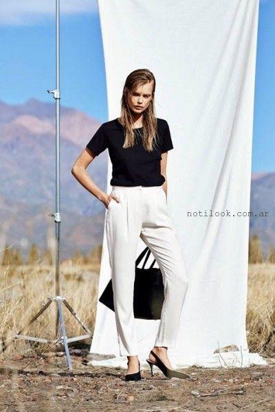 pantalones de veestir mujer verano 2016 Paula Cahen D'Anvers