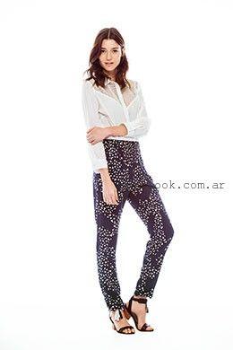 pantalones estampados Yagmour  primavera verano 2016